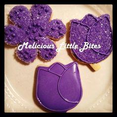 Flower Royal Icing Cookies