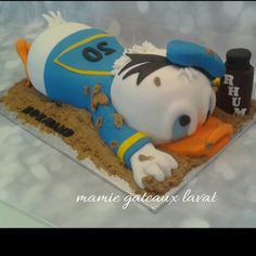 donald+duck+cake+-+Cake+by+Manon