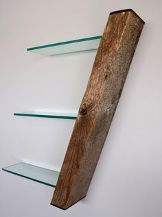 Reclaimed Driftwood Shelf With Hidden Compartment by Craig Kimm This and more . Reclaimed Driftwood Shelf With Hidden Compartment by Craig Kimm This and other bags on www. Woodworking Organization, Woodworking Box, Custom Woodworking, Woodworking Projects, Youtube Woodworking, Woodworking Workshop, Woodworking Supplies, Into The Woods, Wood Shelves