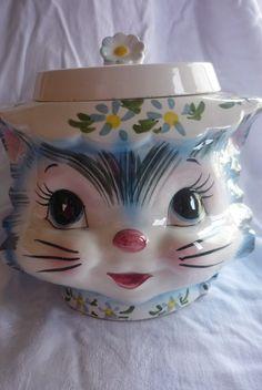 Lefton Miss Priss Cookie Jar