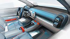 "gashetka:  ""2017 | Citroen C-Aircross Concept | Design by Céline Manetta | Source  """