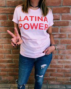 Latina Shirt - Girl Power Shirt - Feminist T-shirt - Women Empowerment - Feminist Shirt - Feminism - Latina - Latinas - Girl Power Tshirt by JenZeanoDesigns on Etsy https://www.etsy.com/listing/490605261/latina-shirt-girl-power-shirt-feminist-t