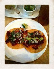 eat tacos al pastor