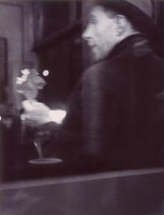 saul leiter(1923- ), flower man, 1952. gelatin silver print, 33.34 x 25.4 cm. milwaukee art museum, wisconsin, usa http://www.mam.org