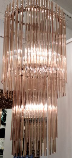 luxurious lighting. luxurious lighting chandelier mid century modern erica moffatt styling