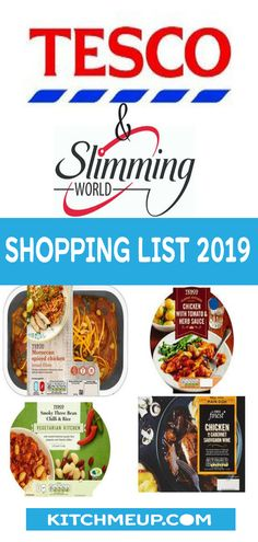 Shopping List of Low Syn and Syn Free foods from Tesco on the slimming world pla. Slimming World Syns List, Slimming World Shopping List, Slimming World Survival, Slimming World Lunch Ideas, Slimming World Diet Plan, Paleo Shopping List, Slimming World Recipes Syn Free, Shopping Lists, Fake Away Slimming World