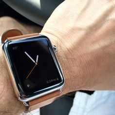 Simple Driven Time with the Apple Watch