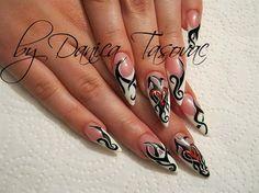 Tamara:)) by danicadanica - Nail Art Gallery nailartgallery.nailsmag.com by Nails Magazine www.nailsmag.com #nailart
