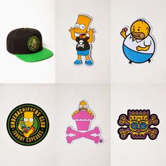 The Blot Says...: The Simpsons x Johnny Cupcakes T-Shirt Collection
