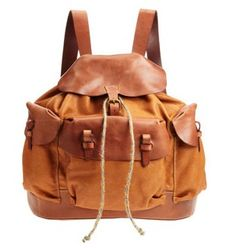 Henry Cuir Sherpa Backpack!