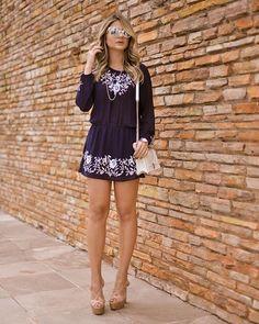 De volta ao nosso calor de vestido fofo e delicia da @cdmais! ✌️ Vocês gostam desse estilo?! #cdmais #thassiastyle #ootd #lookoftheday
