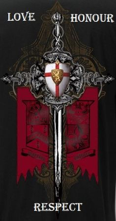Discover Knight Templar Warrior T T-Shirt, a custom product made just for you by Teespring. - Beautiful and quality Knight Templar Warrior T. Crusader Knight, Christian Warrior, Knight Art, Tattoo Motive, Medieval Knight, Medieval Times, Freemasonry, Chivalry, Knights Templar