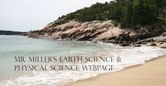 Earth science & Physical science teaching materials