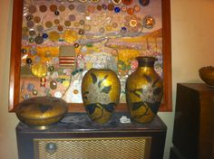 Vase of red brass rare