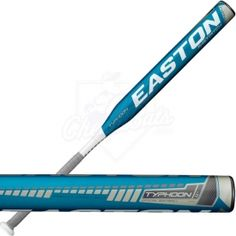 2013 Easton Typhoon Fastpitch Softball Bat Evenly balanced bottle bat with low M.I means lighter swing weight and faster swing speed Softball Bats, Volleyball, Baseball Bats, Softball Pitching, Fastpitch Softball, Basketball Socks, Basketball Legends, Sports, Lighter