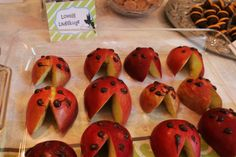 Apple ladybugs