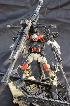 Prometheus Gundam by Capuchino   posted by nuNunu     Wow! what a build yes? I love everything about this kit, though the colors didn't ...