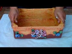 RECICLAJE DE CAJA DE FRESA FRUTERA - WOODEN BOX RECYCLE - YouTube