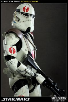 Star Wars Commander Neyo Sixth Scale Figure by Sideshow Collectibles Images Star Wars, Star Wars Pictures, Star Wars Clone Wars, Star Wars Art, Star Wars Drawings, Star Wars Concept Art, Marvel, Star Wars Action Figures, Disney Stars