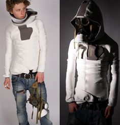 Urban Kevlar Security Suit —I could see myself wearing this in the Post Apocalypse. :D