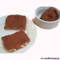 rote Linsenbutter - Rezept  so macht Scout ihre Linsenbutter vegetarisch glutenfrei