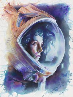 "geekynerfherder: ""  'Ripley' by Tegan Bellitta """