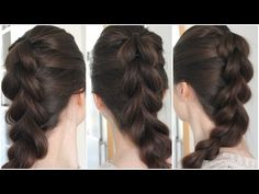 Pull-through braid tutorial