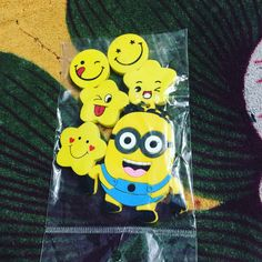 #minions #keychain #smiley #cute