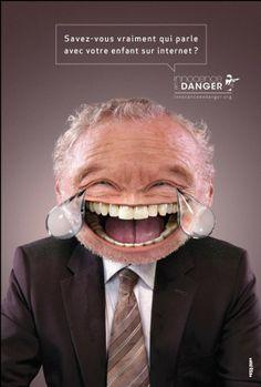 Campagne de sensibilisation : Des smileys réalistes et effrayants pour mettre en garde les parents face à l'utilisation d'internet par leurs enfants