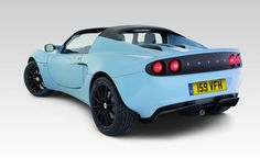 Lotus Elise CR now wouldn't that be fun!