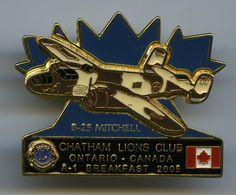 Lions Club - Chatham, Ontario - 2005 - B-25 - Mitchell