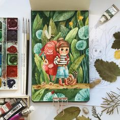 We absolutely adore this amazing artwork ? Do you keep a sketchbook for artwork? Photo by Shop all our Watercolor Sketchbook, Abstract Watercolor, Watercolor Flowers, Watercolor Paintings, Watercolour, Cute Illustration, Watercolor Illustration, Gouache Painting, Painting & Drawing