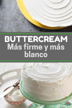 Cómo hacer buttercream ¡Más firme y más blanco! Frosting Recipes, Buttercream Frosting, Merengue Cake, Filled Cupcakes, Bakery Logo, Cupcake Cookies, Fondant, Vanilla Cake, Cake Decorating