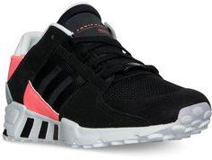 designer fashion 224a0 36e8a adidas Men s Eqt Support Refine Casual Sneakers from Finish Line - Black 10
