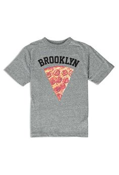Boys Brooklyn Pizza Graphic Tee (Kids) | Forever 21 - 2000147183