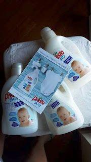 Nel carrello di Chicca: Bio Presto Baby, il detersivo ideale per il bucato...