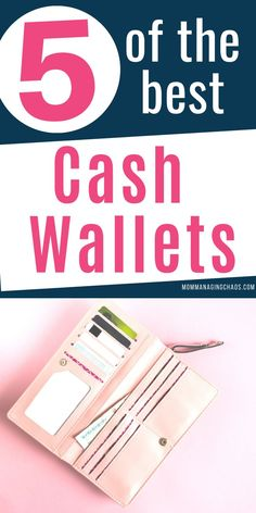 Want to learn the trick to sticking to your budget? Start using Dave Ramsey's cash envelope system. Grab one of these awesome cash wallet systems to keep your finances organized and start managing your money like a boss.  Dave Ramsey | Managing Your Money | Cash Envelope | Stay on Budget | Budgeting Money | Monthly Budget  #mommanagingchaos
