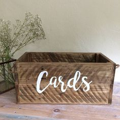 Wedding Card Box - wedding post box - wedding mail box - rustic card box - rustic wedding - wooden box - reclaimed wood - vintage wedding