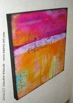 Bilder-Galerie - Heart's Art - Sandra Rheude - intuitive Malerei & Objekte