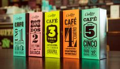 cielito querido cafe - blend packaging