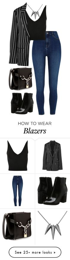 """Без названия #1527"" by m-gorodetskaya on Polyvore featuring Topshop, Haider Ackermann and Alexander Wang"
