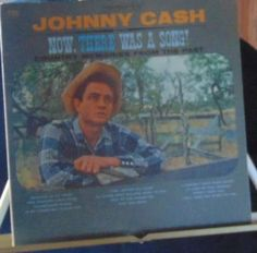 Johnny Cash Lp Now There Was A Song! Near Mint #AlternativeCountryAmericanaContemporaryCountryEarlyCountryHonkyTonkTraditionalCountry