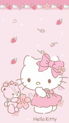 Kaws Iphone Wallpaper, Sanrio Wallpaper, Kawaii Wallpaper, Walpaper Hello Kitty, Hello Kitty Wallpaper, Hello Kitty My Melody, Hello Kitty Items, Kawaii App, Hello Kitty Backgrounds