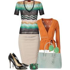 No. 631 - Missoni top, created by elke-koscher on Polyvore
