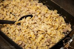 simple and easy Beef Stroganoff recipe
