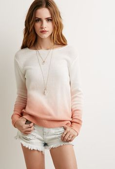 Dip-Dye Sweater | Forever 21 - 2002247335