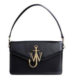 J.W.Anderson Black Leather Shoulder Bag