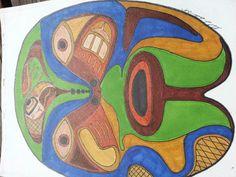 Modern Tlingit Mask