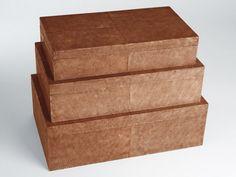 Amaris Elements Rechteckige Box Rochenleder Kaufen Im Borono Online Shop