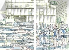 Traffic around Trump Tower is a mess, but there's a fix: Turn the street into a pedestrian plaza.